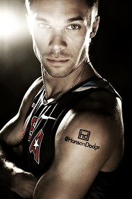 Nick Symmonds' Olympic sponsor tattoo